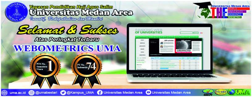 Universitas Medan Area Peringkat 1 Universitas Swasta Terbaik Di Sumatera Utara Versi Webometrics